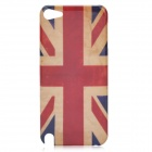 Vintage UK National Flag Pattern Protective Plastic Back Case for Ipod Touch 5 - Red