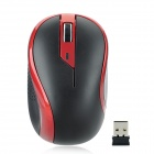 G-179 2.4GHz 1000DPI Wireless Optical Mouse w/ USB Receiver - Black + Red (1 x AA)