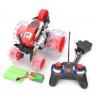 ZhengCheng 333-WL007 Rechargeable 7-CH Radio Control R/C Rotation Stunt Car - Red