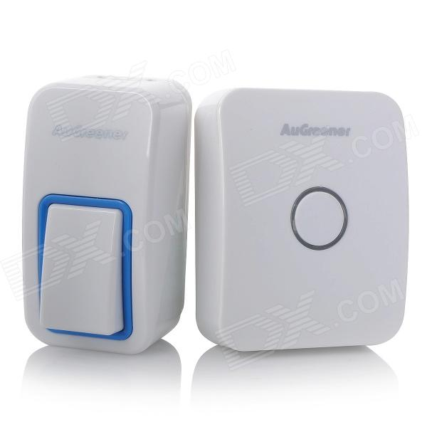 Augreener AG01 Battery-free Wireless 433Hz Doorbell - White