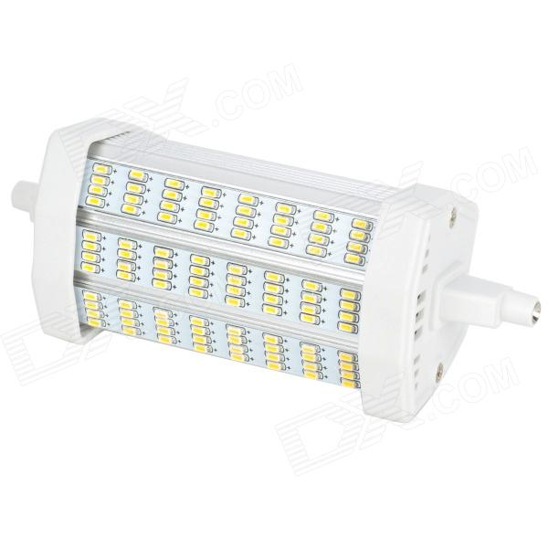 BY-R7S-10WD R7S 10W 860lm 3300K 96-SMD 3014 LED Warm White Light Lamp - White (85~265V)