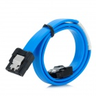 SATA Hard Drive Data Cable - Blue + Black (40cm)