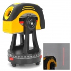RT-J2006 Red Laser Leveler w/ Measure Tape - Black + Yellow (2 x AAA)
