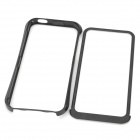 Protective Aluminum Alloy Bumper Frame Case for Iphone 5 - Black