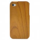 Wooden Pattern Stylish Protective Back Case for Iphone 4 / 4S - Wood