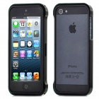 Protective Aluminum Alloy Bumper Frame for iPhone 5 - Black