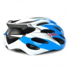 COSI Cool Outdoor Bike Bicycle Cycling Helmet - White + Blue (58~62cm)