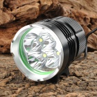 SKYRAY J58 4 x Cree XM-L T6 2400lm 5-Mode White Dimming Flashlight - Black (4 x 18650)
