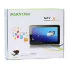 AOSON M92S 9'' Capacitive Screen Android 4.0 Tablet PC w/ Wi-Fi / 3G / TF / Dual Cameras - White