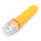 888 CREE XP-E R5 160lm White Diving Flashlight - Yellow (2 x AA)