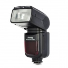 "OLOONG SP-660 Universal 2.0"" LCD Flash Speedlite Speedlight for Canon / Nikon / Olympus DSLR - Black"