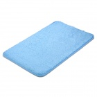 BAIYISHANGPIN R9G40X60 Anti-Slip Water Absorption Washable Acrylic Fiber Floor Mat - Light Blue