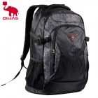 Oiwas 4000 Outdoor Travel Water Resistant Nylon Backpack Bag - Black (38L)