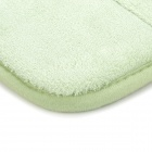 BAIYISHANGPIN R1G40X60 Anti-Slip Water Absorption Acrylic Sponge Floor Mat - Light Green