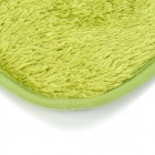 BAIYISHANGPIN R9G40X60 Anti-Slip Water Absorption Washable Acrylic Fiber Floor Mat - Olive Drab