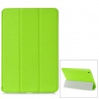 BELK Cross Pattern Protective 3-Fold PU Leather Case for Ipad MINI - Green