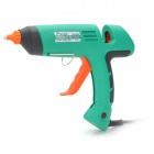 Pro'sKit GK-390H Professional 80W Hot Melt Glue Gun - Water Blue ((AC 110~240V / 3-Flat-Pin Plug)