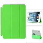 Protective PU Leather Smart Cover for iPad Mini - Green