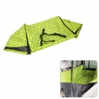 Folding Double-Layer Dog Cat Pet Protection Pad Mat for Car - Green + Black