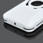 Bicycle Bike Water Resistant Plastic Mount Holder Case for Iphone 4 / 4S - White