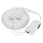 6W 390LM 3000~3500K 30-2835SMD LED Warm White Light Ceiling Down Lamp w/ Driver (90-265V)