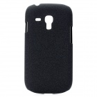 TEMEI Protective PC Matte Back Cover Case for Samsung i8190 - Black