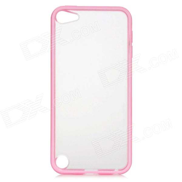 Stylish Protective Plastic Back Case for Ipod Touch 5 - Pink