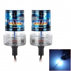 Tanyuehid H10 35W 3200lm 8000K Blue White HID Kit Set Car Head Lamps - Schwarz (2 PCS / DC 12V)
