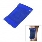 Elegant Cotton + Rubber Fiber Elastic Knee Support - Blue