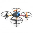 SanHuan Rechargeable 4-CH 2.4GHz Radio Control 3D Tumbling R/C UFO w/ Gyro - Blue + Black + Orange