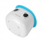 LeBao LB-801 Mini Ultrasonic USB Diffuser Humidifier - Blue + White