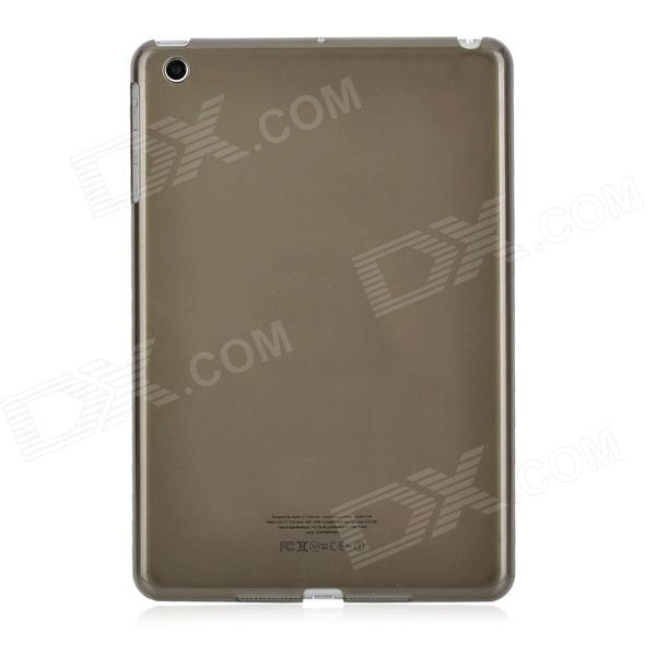 Simple Protective Plastic Back Case for Ipad MINI - Translucent Coffee