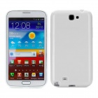Protective Silicone Back Cover Case for Samsung N7100 - White