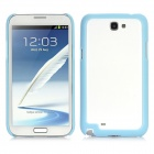 Protective ABS Frame for Samsung N7100 - Light Blue