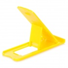 Portable 5-Angle Universal Stand Holder Support for Iphone / Ipad / Cell Phone - Yellow
