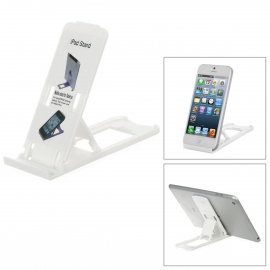 Portable 5-Angle Universal Stand Holder Support for Iphone / Ipad / Cell Phone - White