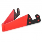 Stylish Folding Stand Holder Support for Iphone / Ipad / Samsung / HTC / Cell Phone - Red + Black