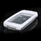 Aryca Stylish Waterproof Protective Case for Iphone 5 - White