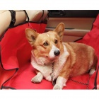 Travel Pet Dog Cat Car Seat Cover Hammock Carpet Mat - Red