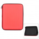 "Protective PU Inner Pouch Case w/ Speaker + Holder for 9.7"" Tablets - Red + Black"
