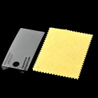 Protective PET Clear Screen Protector w/ Cleaning Cloth for iPod Nano 7 - Transparent