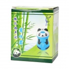 Cute Panda Shape Ultrasonic USB / Car Charger Air Humidifier / Purifier - Translucent Blue + Black