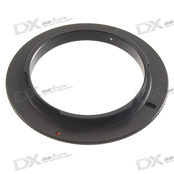 55mm Aluminum Lens Reversal Filter Adapter Ring for Nikon AI