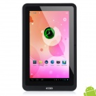 ICOO D50W 7'' Capacitive Screen Android 4.0 Tablet PC w / Wi-Fi / 3G / TF / G-Sensor - Black + White