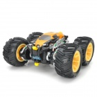 ZhengCheng 333-FG21B Rechargeable 5-CH Radio Control Stunt R/C Car w/ Music / Light - Yellow