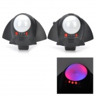 ABS Shocking IR Laser Spaceship Toys - Black + White (3 x AAA / 2 PCS)