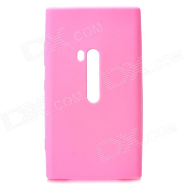 Protective Silicone Case for Nokia Lumia 920 - Pink - DXSilicone Case<br>Quantity 1 Piece Color Pink Material Silicone Compatible Models Nokia Lumia 920 Other Features Protects your device from scratches shock and dust; Allows full access to all ports and buttons Packing List 1 x Case<br>