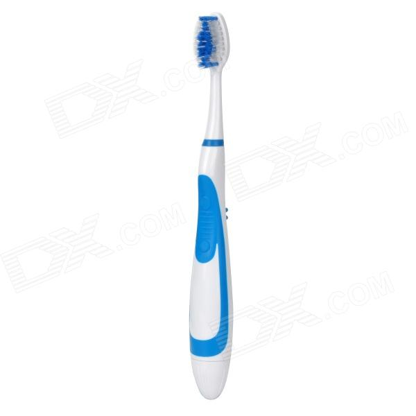 Rycom TB001 Electronic Toothbrush - White + Blue (1 x AAA)
