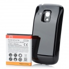 "Replacement 3.7V ""3500mAh"" Battery Pack + Back Case for Samsung i8190 Galaxy S3 Mini - Black + White"