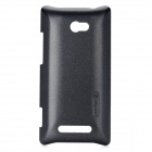 NILLKIN Protective Plastic Case for HTC 8X - Black